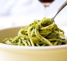 Espaguete Soella com Agrião